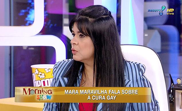 Mara Maravilha diz que homossexualidade é uma aberração e dá seu apoio ao deputado Marco Feliciano