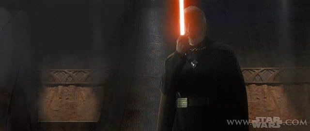 Count Dooku A.K.A.the guy who's gonna beat the crap out of Anakin Skywalker and Obi-Wan Kenobi