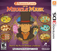 Professor Layton and The Miracle Mask (Nintendo DS)