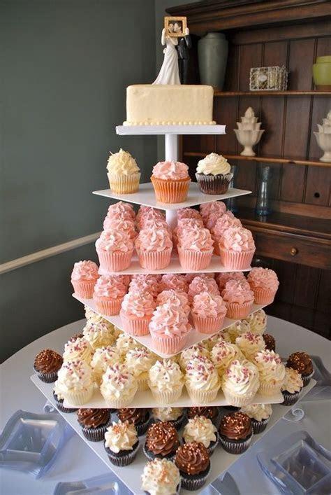 Gigi's Cupcakes wedding reception cupcake stands   Wedding