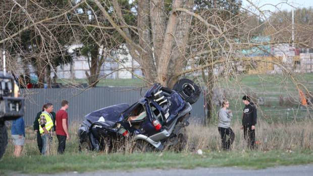 Two more people were confirmed dead on Sunday night after a two-car crash on Christchurch's Northern Motorway, near the Main North Rd.