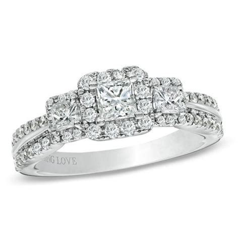 Vera Wang Love Collection 1 CT. T.W. Princess Cut Diamond