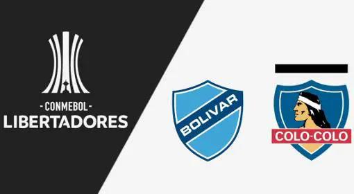 Bolívar x Colo-Colo AO VIVO 14/03/2018