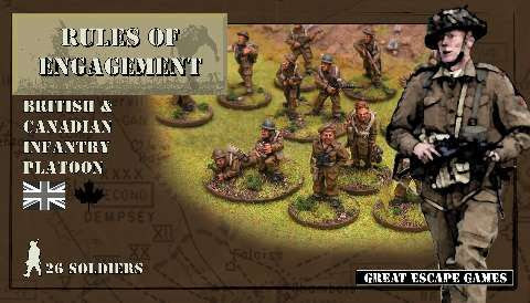 British Infantry Platoon