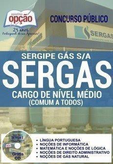 Apostila Sergipe Gás SERGAS comum a todos os cargos NÍVEL MÉDIO