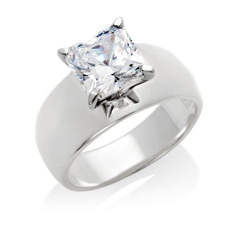 thick band engagement rings   Google Search   Jewelry
