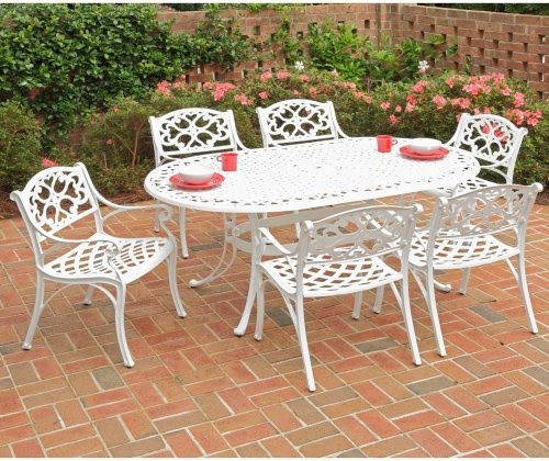Home Styles Biscayne 72 in. Patio Dining Set - Seats 6 ...