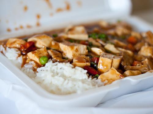 Mapo tofu (Kim's Oriental Truck)