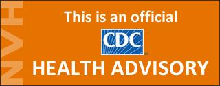 CDC HAN Health Advisory logo