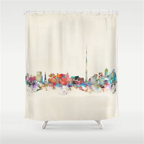 dublin ireland shower curtain  bribuckley society