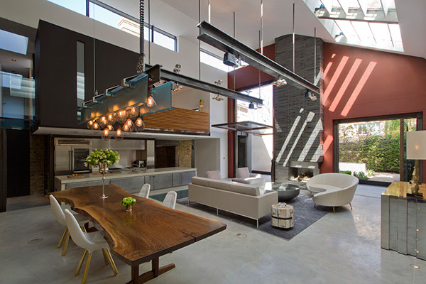 House Little Venice: An Industrial Zinc and Glass House in ...
