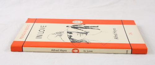 "theparisreview:  ""In Love, by Alfred Hayes, is a slim novel from 1953 that deserves to be better known. The cover of the new edition features an Elizabeth Bowen quote in which she terms the book ""a little masterpiece,"" and I've rarely seen the breakdown of a relationship, in all its banality and pettiness, evoked more vividly. It's tough, fresh, very lovely, and will stay with you.""For more of what we're loving this week, including Wilkie Collins's The Moonstone, The New York Review of Books' fiftieth anniversary, and Romanian concert pianist Radu Lupu at Carnegie Hall, click here."