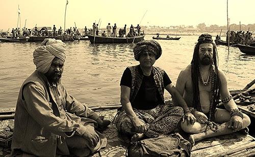 Naga Sadhus On The Ganges - Maha Kumbh by firoze shakir photographerno1