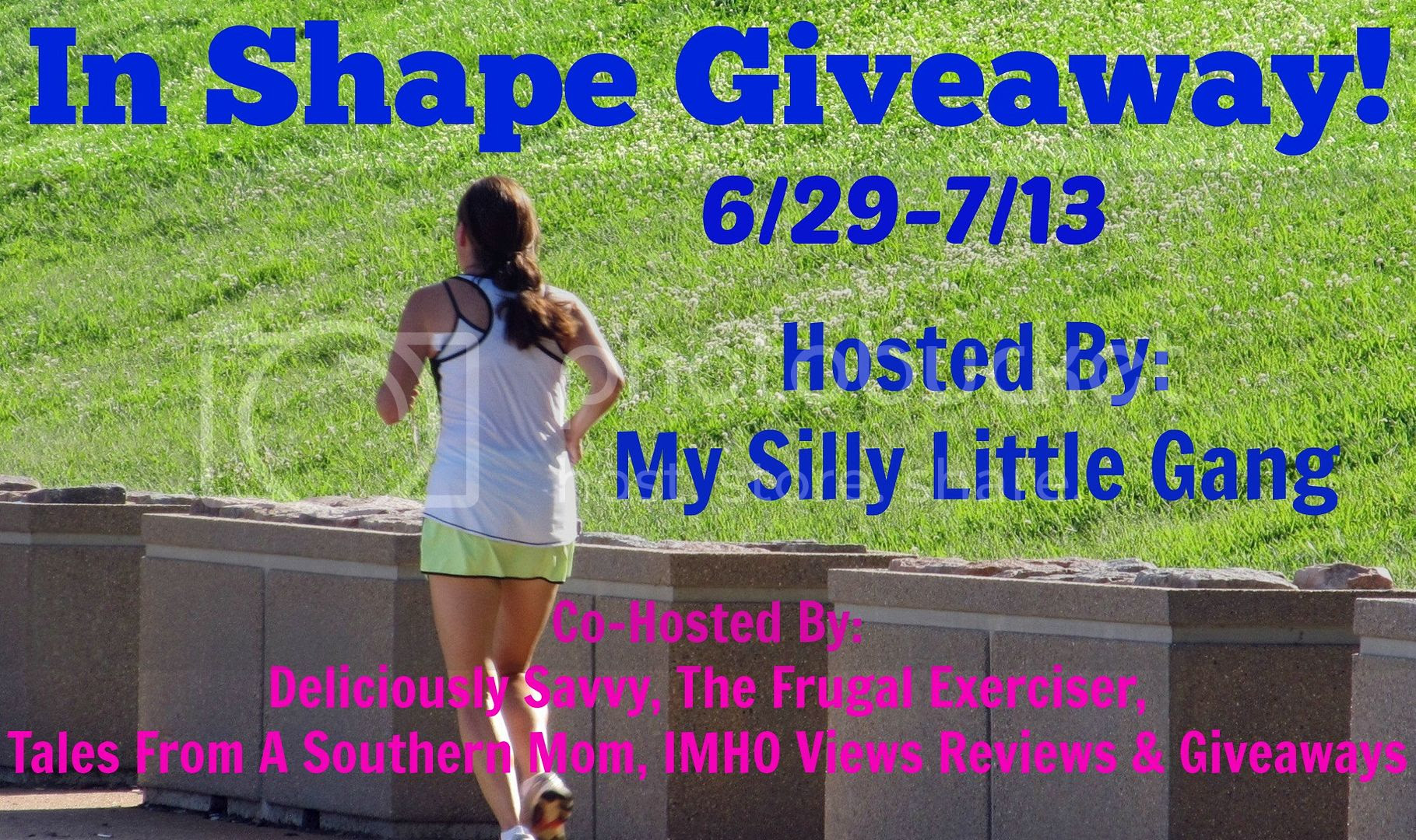 In Shape Giveaway. Ends 7/13