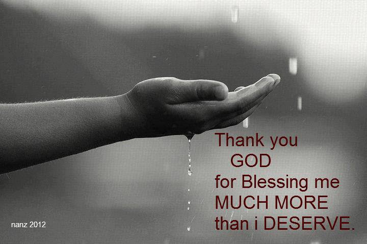 God Is Raining Blessings On You Christian Motivations