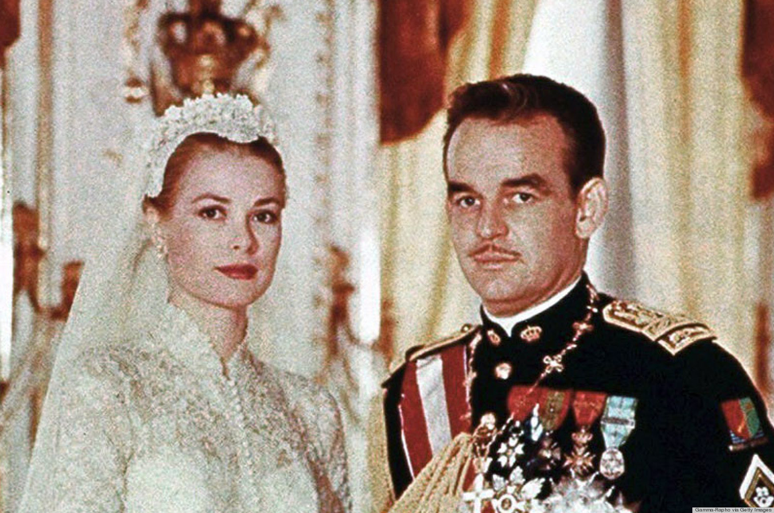 Grace Kelly e Rainier