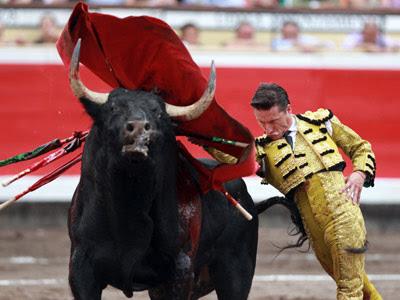 Imagen de una corrida de toros en la Semana Grande de Bilbao. EFE
