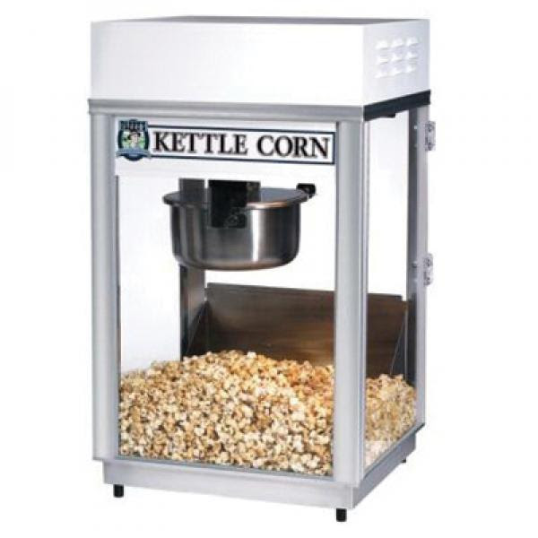 Kettle Corn Pappys Deluxe Sixty Special Popcorn Machine Electric Countertop Restaurant Equipment Solutions