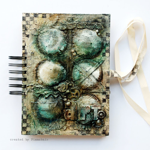 Teabag Journal - cover
