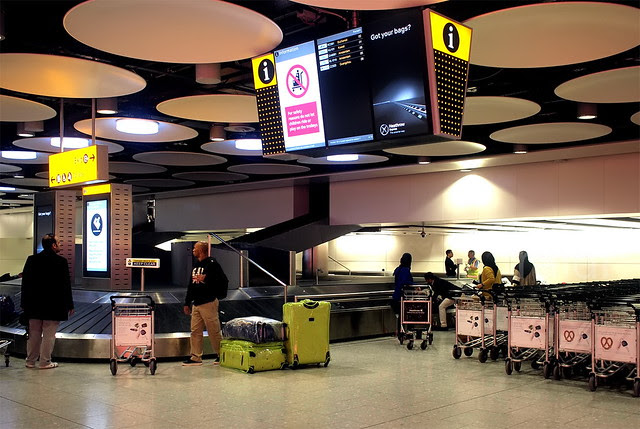 Heathrow Baggage Collection
