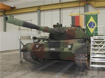 Leopard 1A5 сухопутных войск Бразилии. Фото с сайта maquina-de-combate.com