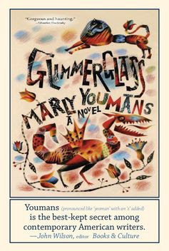 Postcard of Glimmerglass! Art by Clive Hicks-Jenkins. Book design by Mary-Frances Glover Burt. And I think the postcard was made by Mary Beth Kosowski...