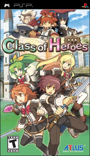 Download Class Of Heroes PSP [CSO/ISO]