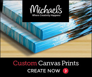 Custom Canvas Prints from Michaels