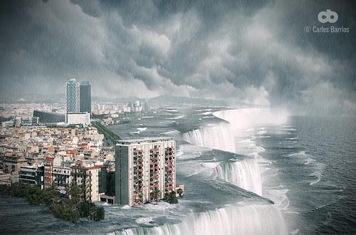 Barcelona's flood by carlesbarrios
