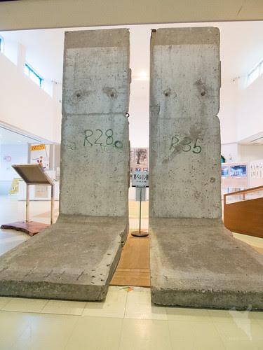 ベルリンの壁@うえのドイツ文化村
