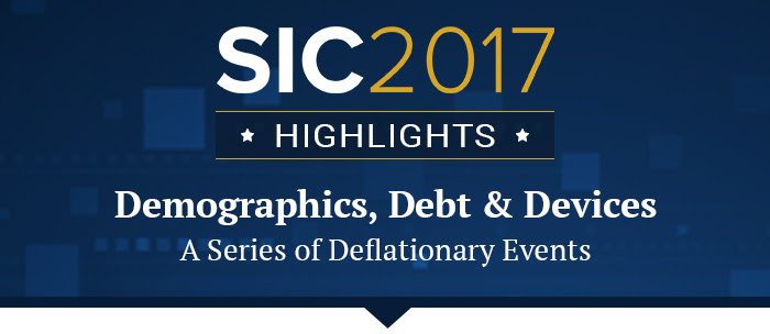 Demographics, Debt & Devices - A Series of Deflationary Events