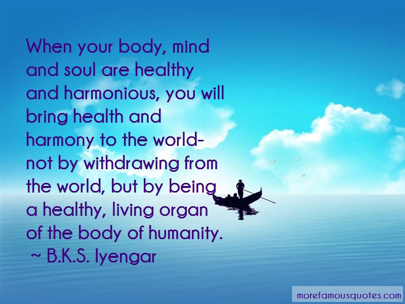 Healthy Mind Body And Soul Quotes Top 5 Quotes About Healthy Mind