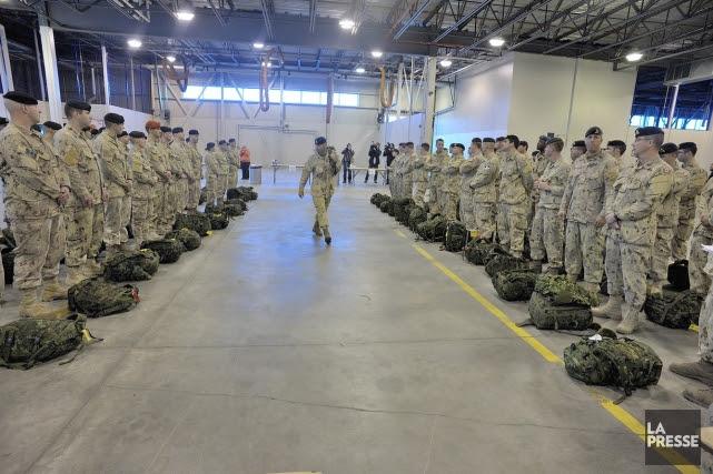 La Défense nationale a embauché sept travailleurs en santé mentale qui font... (Photo du Sgt Jean-Francois Néron, fournie par l'armée canadienne)