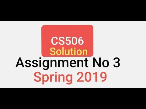 Spring 2019 - CS506 Assignment No 3 Solution with Source Code - Health Care Web Application