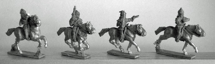 Caucasian Armoured Nobles with Pistols