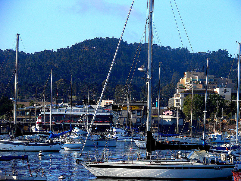File:DowntownMonterey&Harbor.jpg