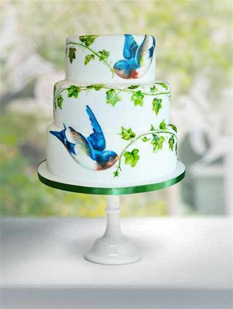Stunning Hand Painted Cakes   Food Heaven