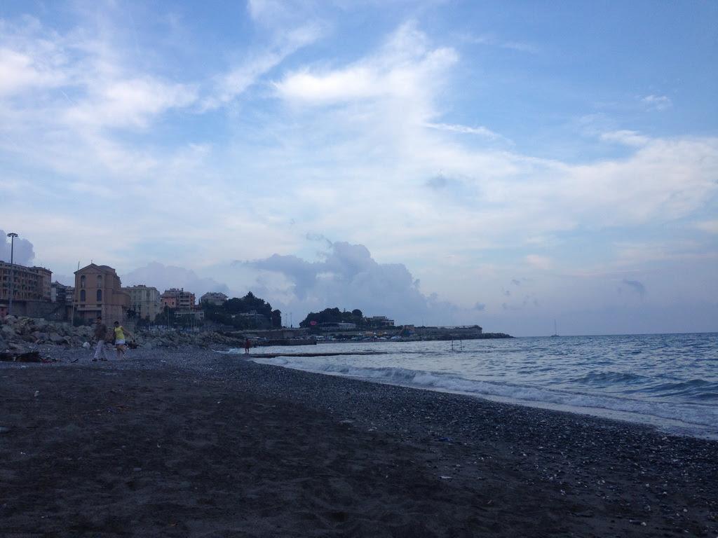 Генуэзский залив Лигурийского моря