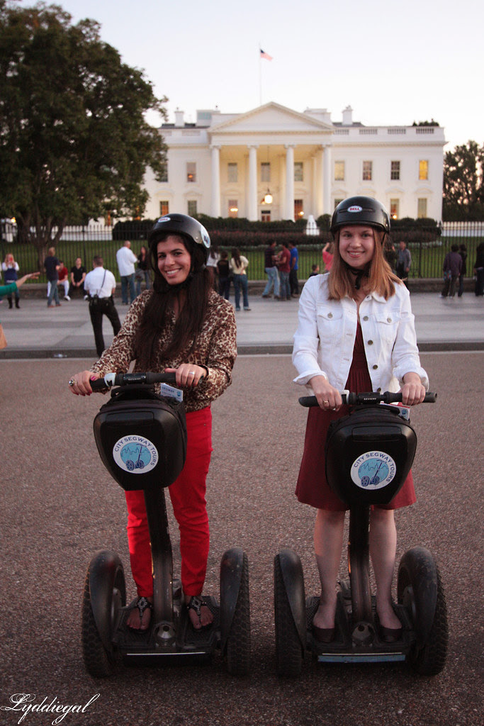 Lyd and Ab at the White House