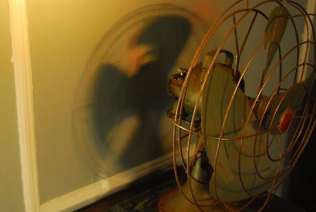industrial vintage fan