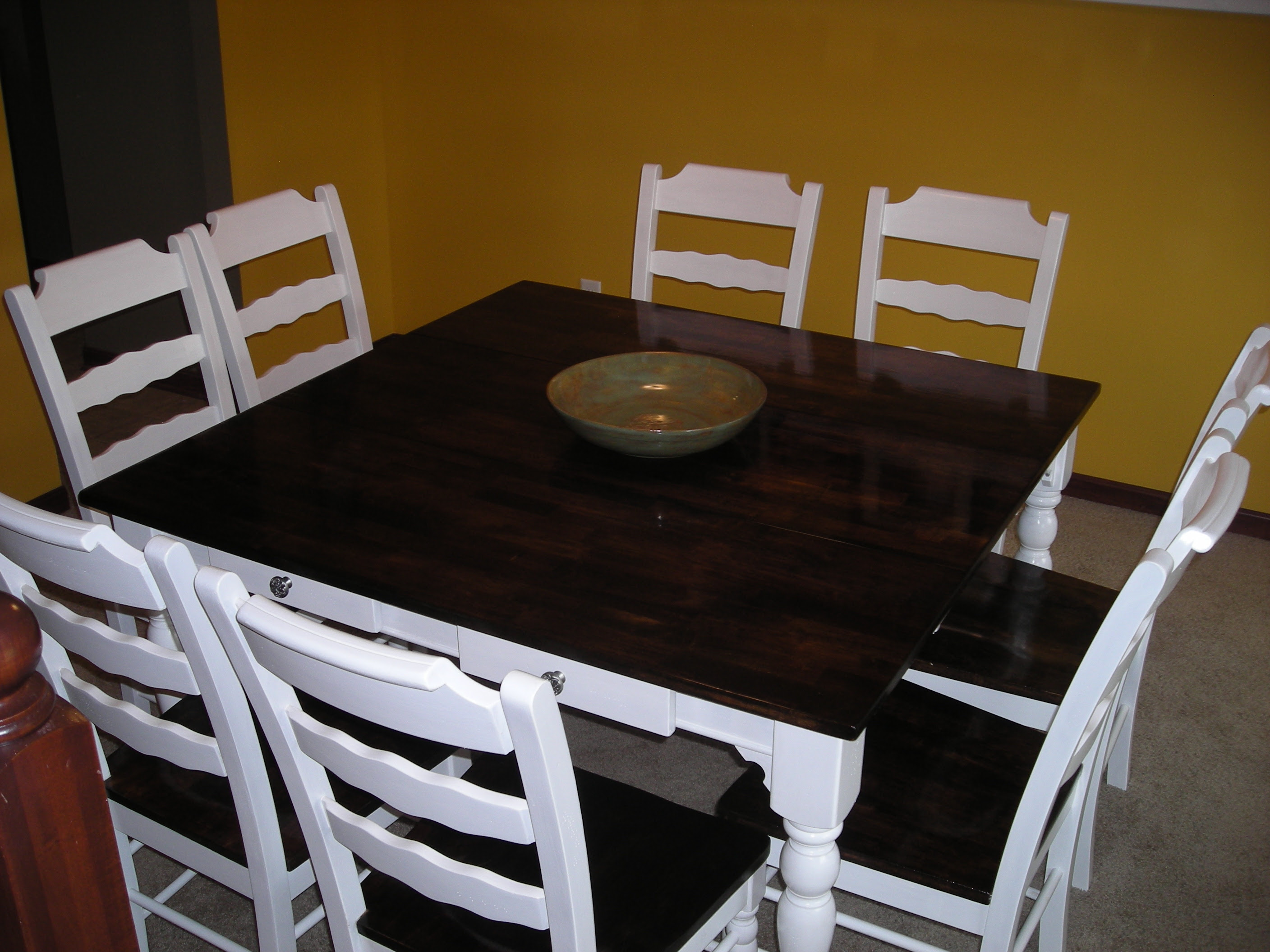 Staining Dining Room Table Homebase Wallpaper