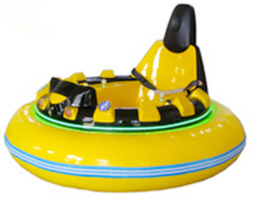 Bright Yellow Bumping Cars for Sale
