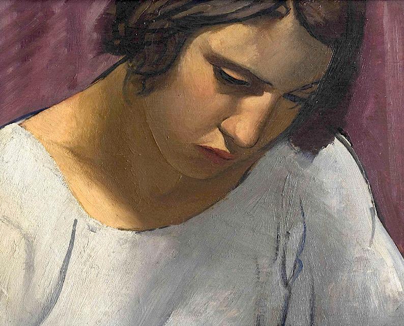 bofransson:  Emilio Pettoruti (Argentinian 1892-1971) Ragazza (Carolita)