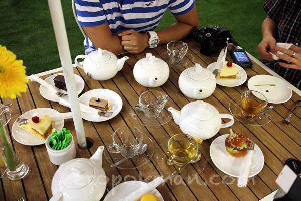 Lipton Pop-up High Tea Bar