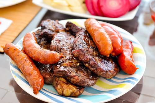 Steak and Chorizo