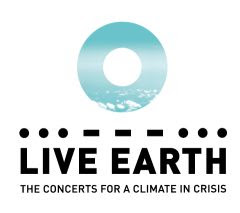 Logo for Live Earth: the concerts for a climate in crisis