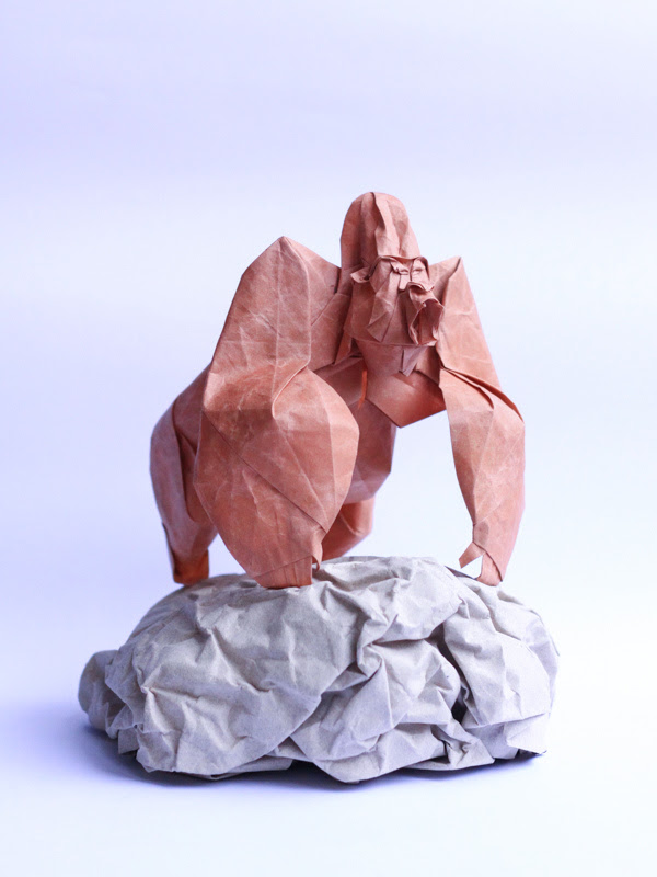 Origami sculptures by Cuong Nguyen