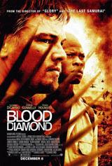 Afiche de Diamantes de sangre