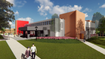 New Student Union At University Of Hartford Commercial