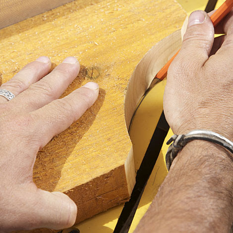 Designing And Cutting Signature Rafter Tails For A Pergola